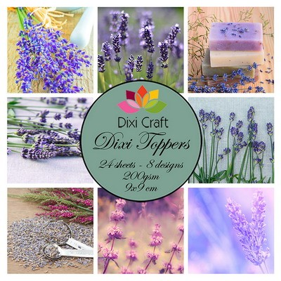 Dixi Craft - Toppers - set Lavender