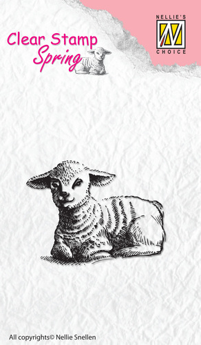 Nellie Snellen - Clearstamp - Spring Lamb
