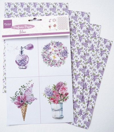 Marianne Design - Perfumed paper lilac