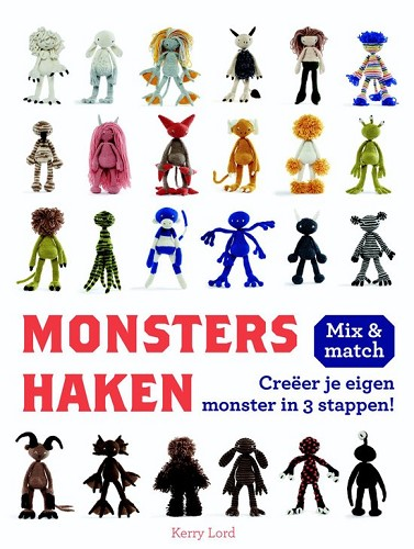 Haakboekjes - Monsters haken Mix & match
