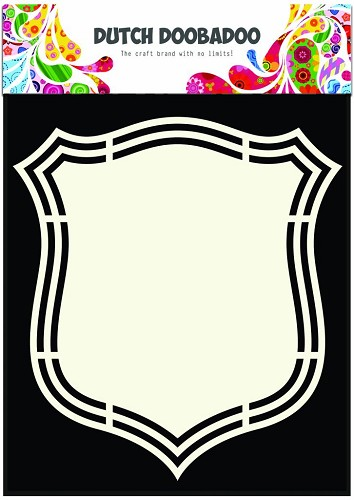 Dutch Doobadoo - Dutch Shape Art - Shield 2