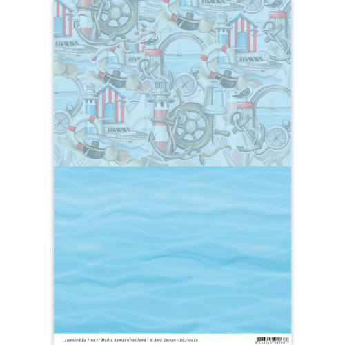 Amy Design - Backgroundsheets - Maritime