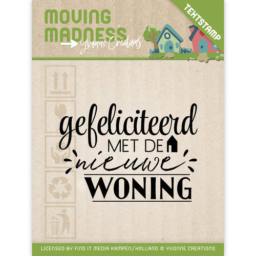 Yvonne Creations - Clearstamp - Moving Madness