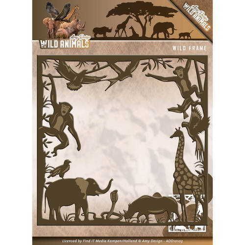 Amy Design - Die - Wild Animals - Wild frame