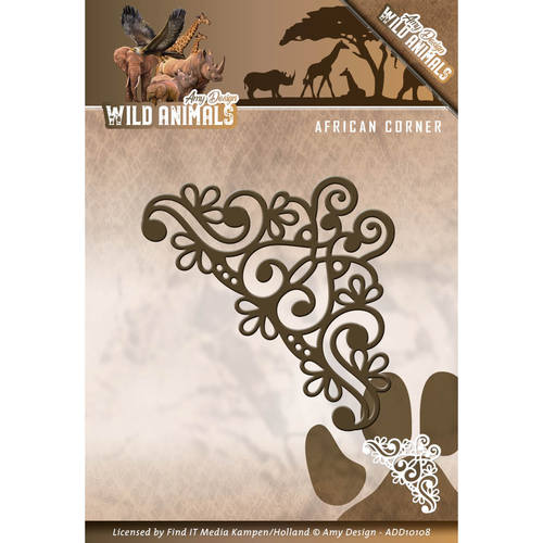 Amy Design - Die - Wild Animals - African Corner