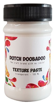 Dutch Doobadoo - Dutch Texture Paste - Transparant