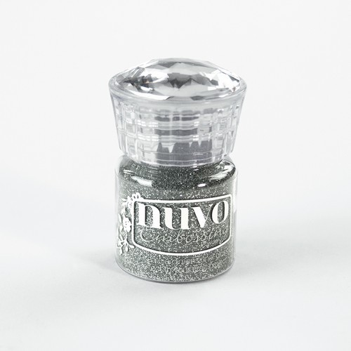 Nuvo - Embossing Poeder - Glitter Silver Moonlight