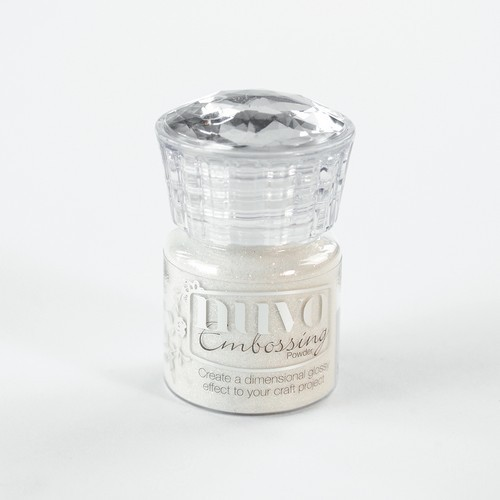 Nuvo - Embossing Poeder - Glitter Shimmering Pearl
