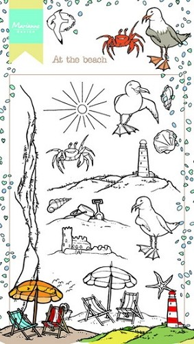Marianne Design - Clearstamp - Hetty`s at the beach