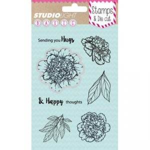 Studio Light - Stamps & Cuts - Flowers