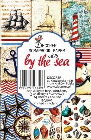 Decorer - Scrapbook Paper Mini - By the Sea
