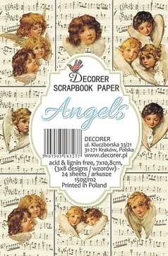 Decorer - Scrapbook Paper Mini - Angels