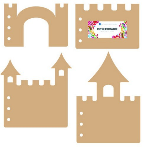 Dutch Doobadoo - Dutch MDF Art - Castle