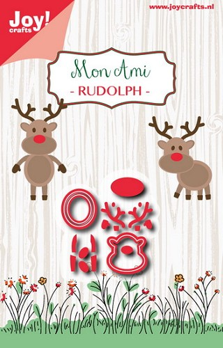 Joy!Crafts - Stencil - Mon ami Rudolph