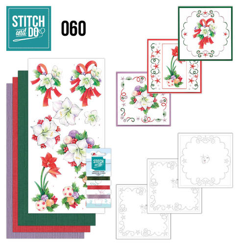 Card Deco - Stitch and Do - Borduurset 60 - Christmas Classics