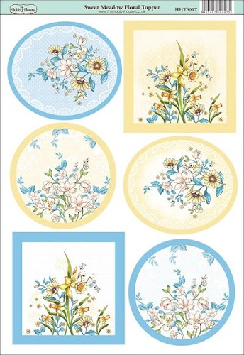 The Hobby House - Floral Topper - Stansvel - Sweer meadow