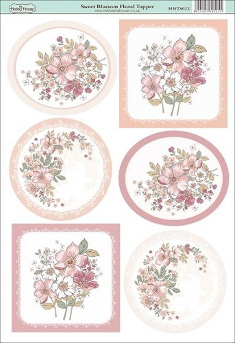The Hobby House - Floral Topper - Stansvel - Sweet Blossom