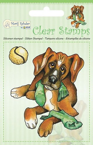Marij Radher - Clearstamp - Dog
