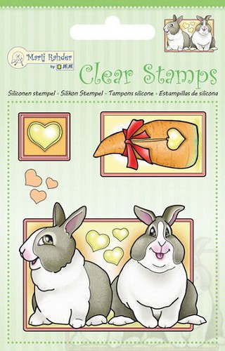 Marij Radher - Clearstamp - Rabbit