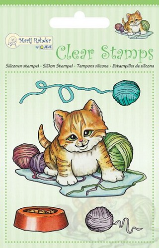 Marij Radher - Clearstamp - Cat
