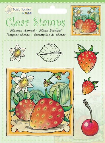 Marij Radher - Clearstamp - Strawberry