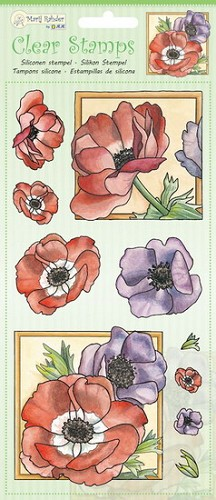 Marij Radher - Clearstamp - Poppy