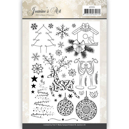Jeanines Art - Clearstamp - Christmas Classics