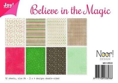 Joy!Crafts - Papierset - Believe in the magic