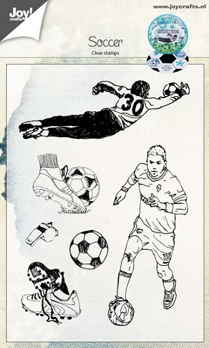 Joy!Crafts - Stempel  - Voetbal