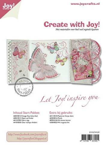 Joy!Crafts - Pakket - Vlinder
