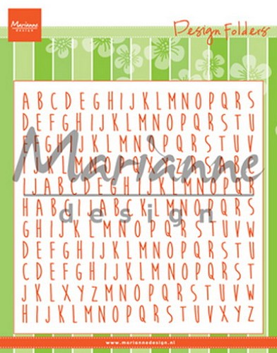 Marianne Design - Design folder - ABC