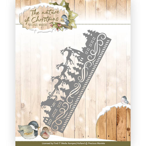 Precious Marieke - Die - The nature of Christmas - Christmas Border