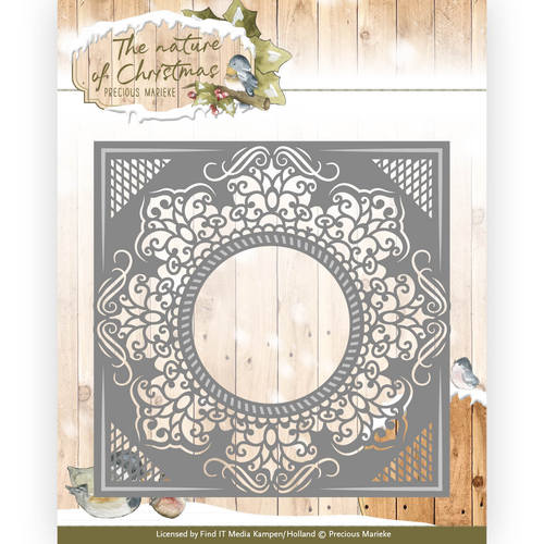 Precious Marieke - Die - The nature of Christmas - Christmas Frame