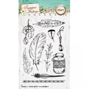 Studio Light - Stamps & Cuts - Summer feelings nr 189