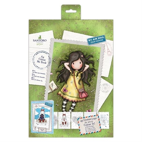 DoCrafts - A4 Colour me book - Spring at last
