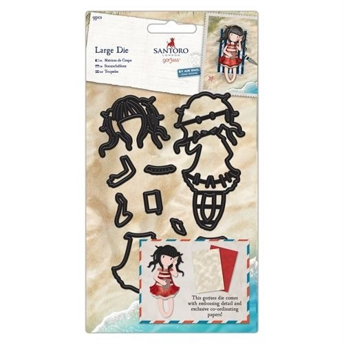 DoCrafts - Santoro's Gorjuss - Dies - Santoro (8pcs) - Summer days