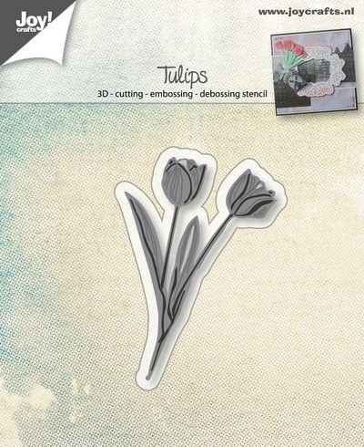 Joy!Crafts - Stencil - Hollandse tulpen