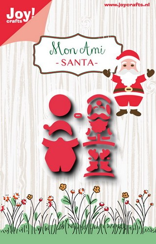 Joy!Crafts - Stencil - Mon ami kerstman