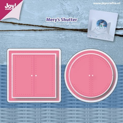 Joy!Crafts - Stencil - Mery`s luiken