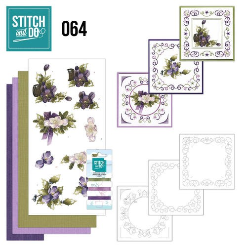Card Deco - Stitch and Do - Borduurset 64