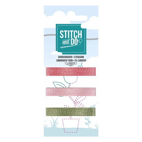 Card Deco - Stitch and Do - Mini Garenkaart 51