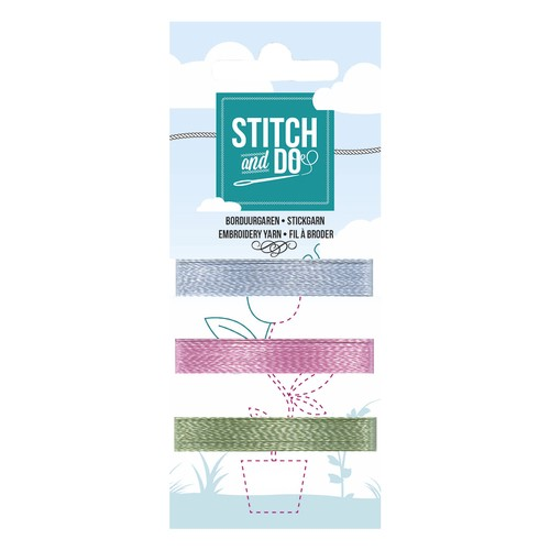 Card Deco - Stitch and Do - Mini Garenkaart 50
