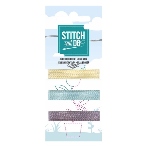 Card Deco - Stitch and Do - Mini Garenkaart 49