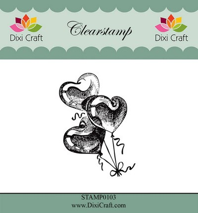 Dixi Craft - Clearstamp - Balloons