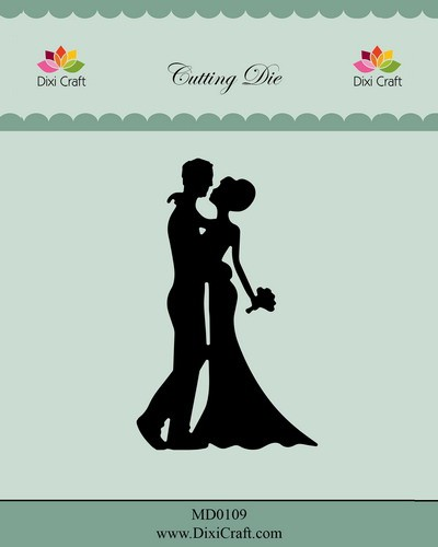 Dixi Craft - Die - Wedding Couple