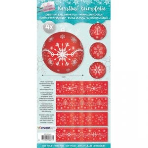 Studio Light - Krimpfolie - Sparkling christmas sleeves
