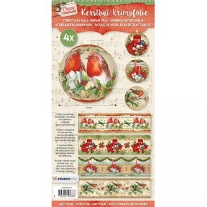 Studio Light - Krimpfolie - Classic christmas sleeves
