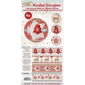 Studio Light - Krimpfolie - Scandinavian winter christmas sleeves 07