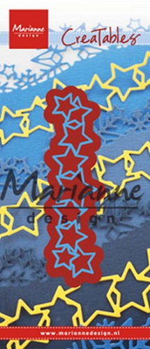 Marianne Design - Stencil - Lots of stars