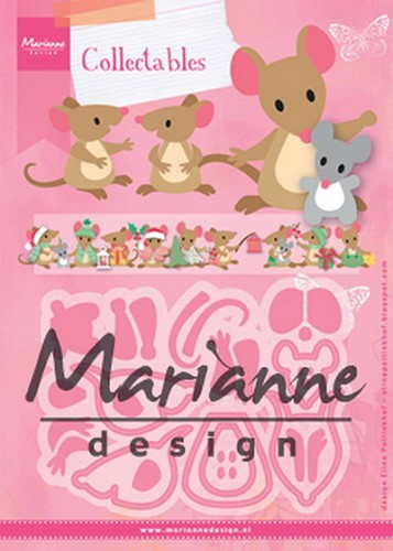 Marianne Design - Die - Collectables - Eline`s mice family